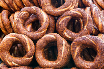 Turkish Sesame Bagels