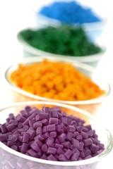 Farbiges Masterbatch Kunststoffgranulat