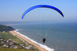 paraglider over Beesands
