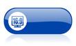 16 9 display blue web glossy icon