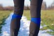 Sportowe getry trening biegowy w zimie