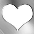 Metallic heart