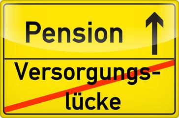 Versorgungslücke ade! Pension hallo