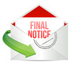 final notice envelope mail correspondence