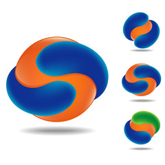 orange sphere icon