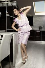 Her kitchen is her kingdom