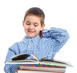 Smart Boy Studying