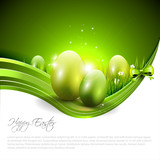 Fototapety Easter modern background with copyspace