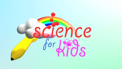 Science for Kids title animation.