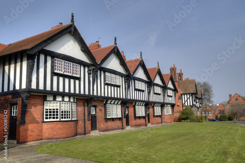 Row of Tudor Homes, UK