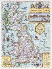 Britain old map