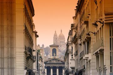 Paris, Notre Dame de Lorette et Sacré-Coeur