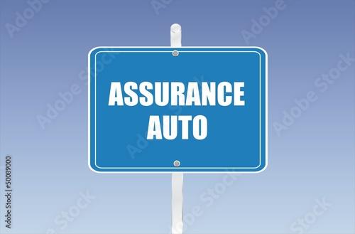 panneau assurance auto