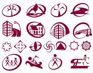 19 простых логотипов