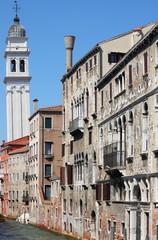 Urban scenic of Venice, Italy