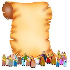 pergamena folla