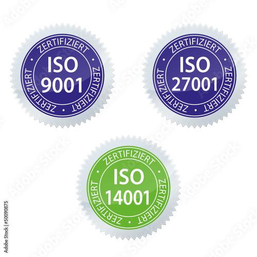 ISO 9001 14001 zertifiziert