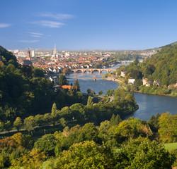 Neckartal im Odenwald