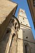Bergamo - tower of cathedral Santa Maria Maggiore