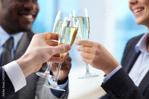 Toast for success