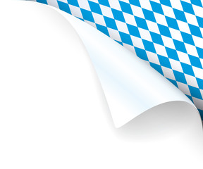 Papierecke Bayern oben