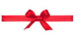 Red Ribbon Tie
