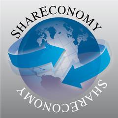 Shareconomy, haben und teilen, Kommunikation, gemeinsam nutzen,