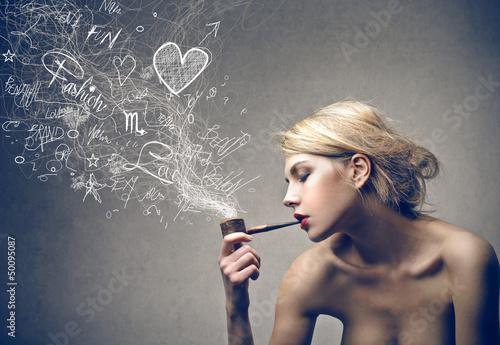 Fototapeten,rauch,linie,konzept,abbildung