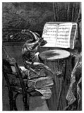 Humour : Monkey Musician - Singe Musicien poster