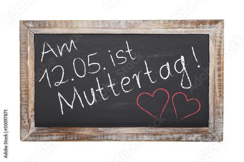 Schultafel - Muttertag (I)