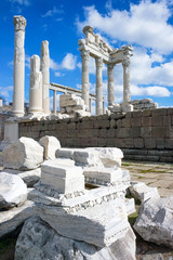 Temple of Trajan in Pergamon, Bergama, Turkey