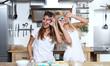 Freundinnen in der Küche