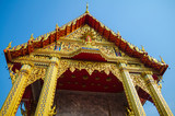 A Golden Buddhism temple