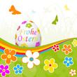 Ostern, Frohe Ostern, Osterei, Ei, Frühling, Hintergrund, farbig