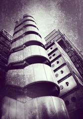 grunge tower