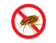 Stop Cockroach sign.