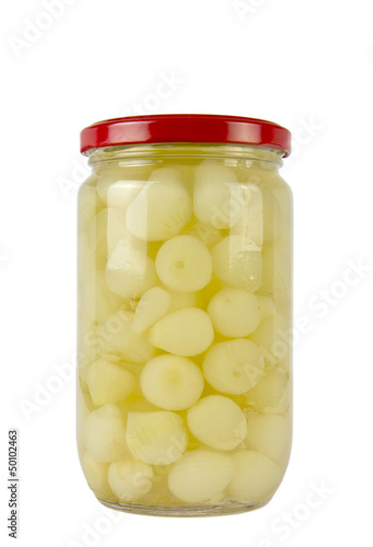 JAR OF PICKLED ONIONS