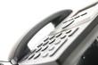 Closeup of a telephone keypad