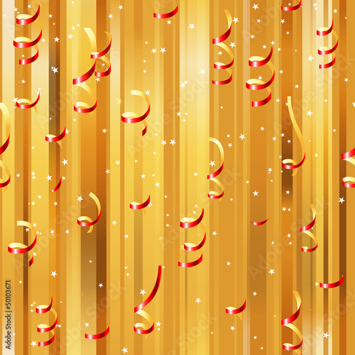 red paper streamers seamless