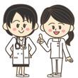 女医と看護士