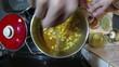 Chef Cooking Chicken Stew