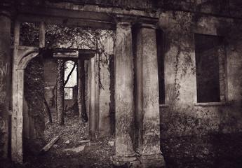 grungy ruin