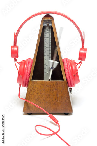 Musique métronome casque