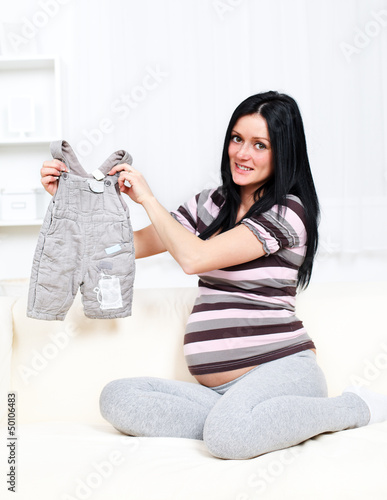 Trousers for unborn
