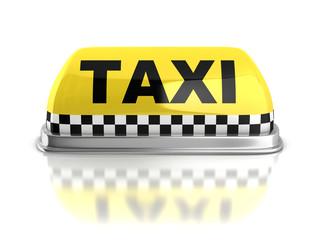 taxi 3d icon