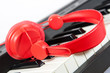 casque ecouteur piano