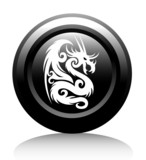 web icon with white dragon