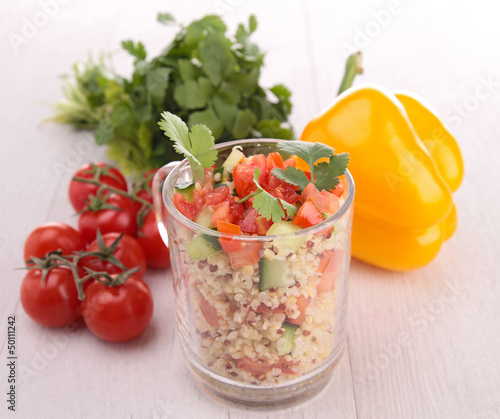 fresh healthy appetizer/salad