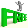 Free Letters Shows Freebie Gratis and Promotion