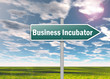 "Signpost ""Business Incubator"""